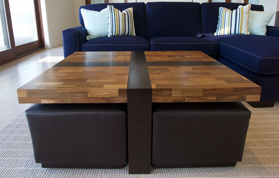 Modern Hand-Crafted Coffee Table